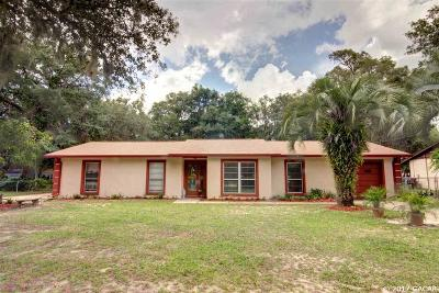 Melrose Single Family Home For Sale: 6850 Lakeview Road