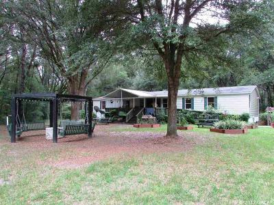 Alachua Single Family Home For Sale: 19865 NW 138th Avenue