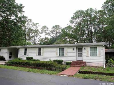 Gainesville FL Single Family Home For Sale: $74,900