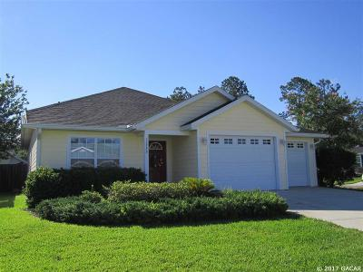 Alachua Single Family Home For Sale: 11735 NW 61st Drive