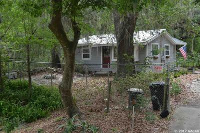 Micanopy Single Family Home For Sale: 16417 SE County Road 234