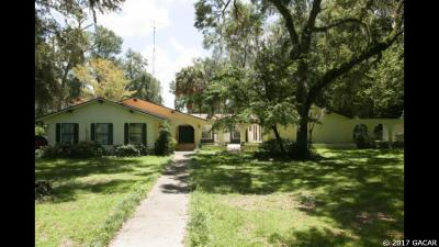 Newberry Single Family Home For Sale: 2416 NW 174th Street