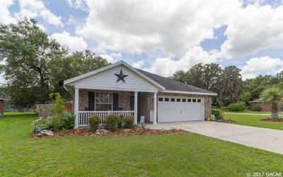Newberry Single Family Home For Sale: 25183 SW 19th Avenue