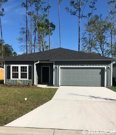 Gainesville Single Family Home For Sale: 2140 NW 75th Place