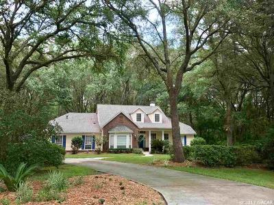Archer Single Family Home For Sale: 2703 SW 132nd Terrace