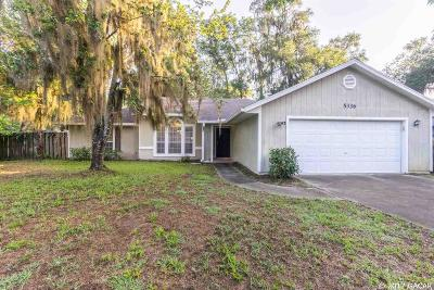 Gainesville Single Family Home For Sale: 5336 NW 30th Lane