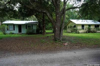 Micanopy Single Family Home For Sale: 201 NE 8TH Avenue