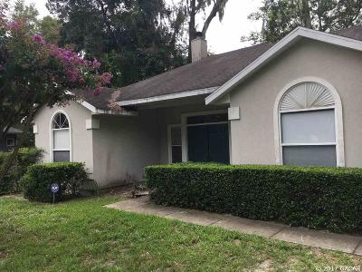 Gainesville Single Family Home For Sale: 4508 NW 37TH Terrace