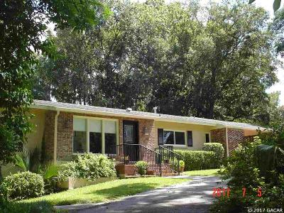 Gainesville Single Family Home For Sale: 2046 NW 14 Avenue