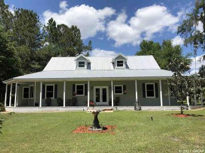 Micanopy Single Family Home For Sale: 12975 NW 198th Street Road