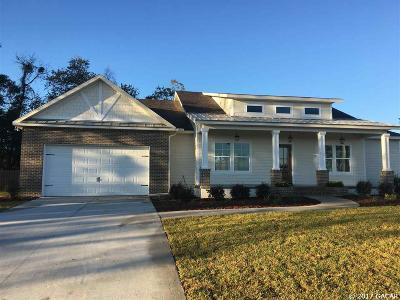 Alachua Single Family Home For Sale: 14887 NW 151ST Lane