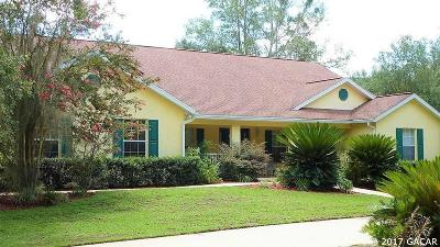 Micanopy Single Family Home For Sale: 21635 NW 75th Avenue Road