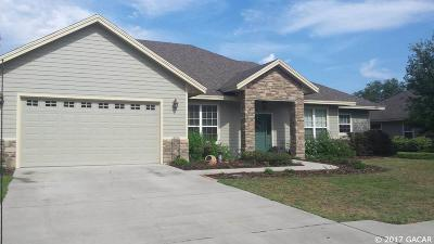 Newberry Single Family Home For Sale: 2977 NW 144TH Terrace