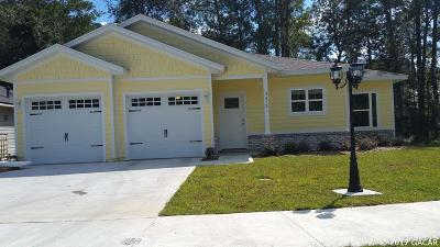 Gainesville Single Family Home For Sale: 3413 NW 54TH Place