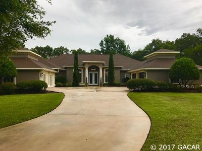 Newberry Single Family Home For Sale: 659 NW 155th Way