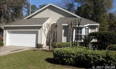 Newberry Single Family Home For Sale: 943 NW 122 Terrace