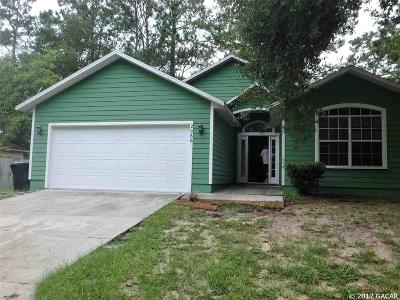 Gainesville Single Family Home For Sale: 2066 SW 42 Lane