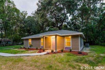 Micanopy Single Family Home For Sale: 107 SW 8th Street