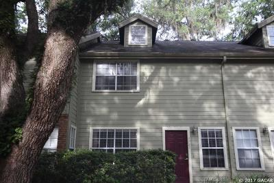 Gainesville Condo/Townhouse For Sale: 9727 SW 52 Lane