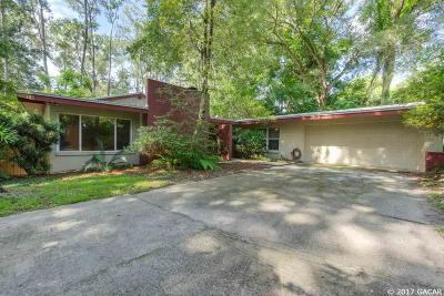 Gainesville Single Family Home For Sale: 3505 NW 12th Avenue
