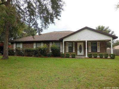 Newberry Single Family Home For Sale: 25325 SW 20th Avenue