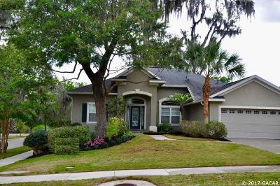 Gainesville Single Family Home For Sale: 3467 SW 74th Way