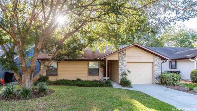 Gainesville Single Family Home For Sale: 6333 NW 37th Terrace