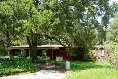 Melrose Single Family Home For Sale: 4323 NE 255