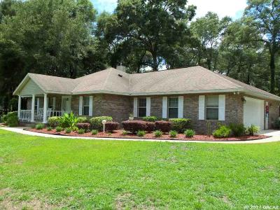 High Springs Single Family Home For Sale: 1510 SW Old Lake City Terrace