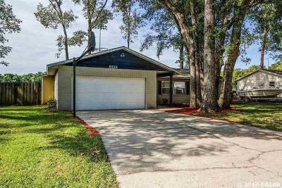 Gainesville Single Family Home For Sale: 8121 SW 13th Road