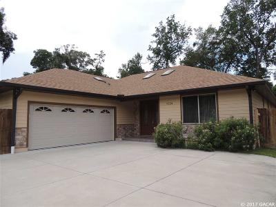 Gainesville Single Family Home For Sale: 9334 NW 16th Place