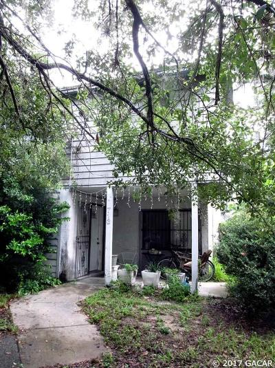 Gainesville Condo/Townhouse For Sale: 713 SW 3 Street
