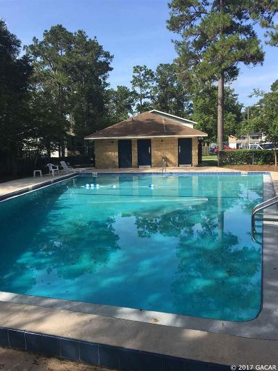 Gainesville FL Condo/Townhouse For Sale: $85,000