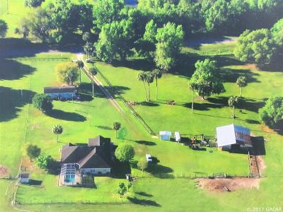 Micanopy Single Family Home For Sale: 7520 SE County Road 346