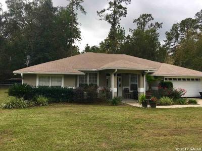 Williston FL Single Family Home For Sale: $210,000