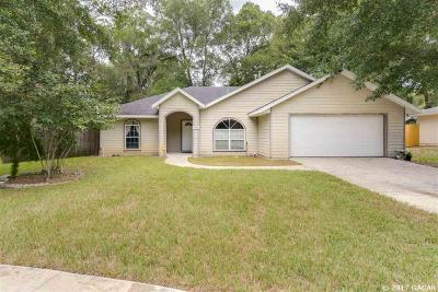 Gainesville Single Family Home For Sale: 5918 SW 86th Street