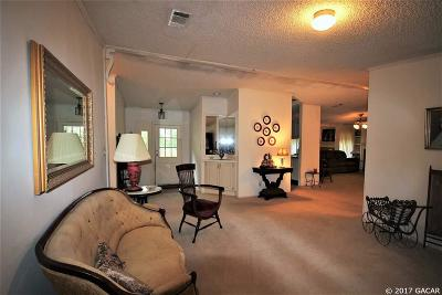 Newberry Single Family Home For Sale: 2303 SW 186th Street