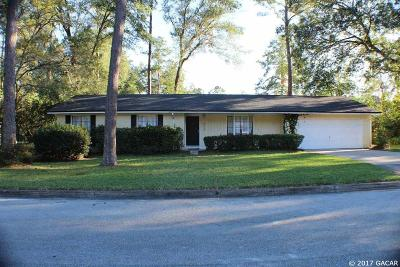 Gainesville Single Family Home For Sale: 4415 NW 32nd Place
