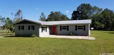 Williston FL Single Family Home For Sale: $159,000