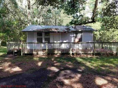 Micanopy Single Family Home For Sale: 16909 SE 26th Street