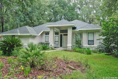 Gainesville Single Family Home For Sale: 8939 SW 44th Lane