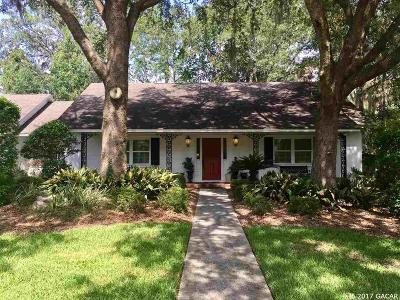 Gainesville Single Family Home For Sale: 1321 NW 50th Terrace