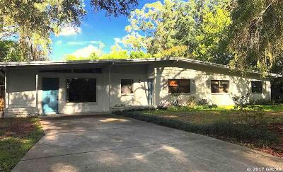Gainesville Single Family Home For Sale: 4138 NW 36TH Street