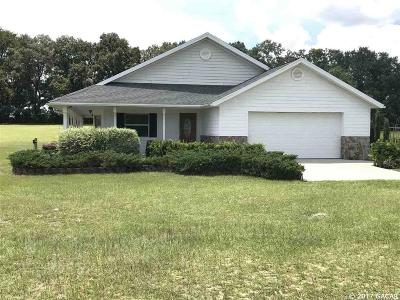 Newberry Single Family Home For Sale: 4910 NW 271st Terrace