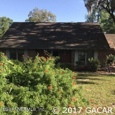 Melrose Single Family Home For Sale: 2800 SE 1st Avenue