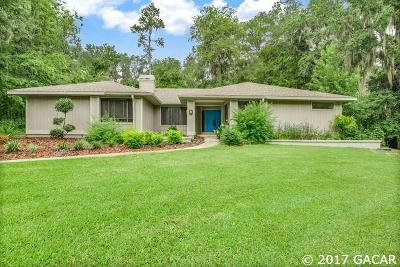 Gainesville Single Family Home For Sale: 4234 SW 82ND Terrace