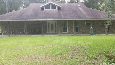 Williston FL Single Family Home For Sale: $340,000
