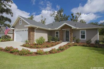 Newberry Single Family Home For Sale: 14366 NW 31st Road