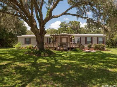 Williston FL Single Family Home For Sale: $142,900