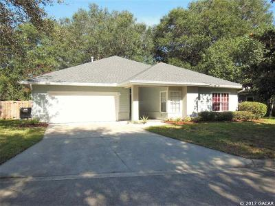 Gainesville Single Family Home For Sale: 4438 NW 34TH Drive